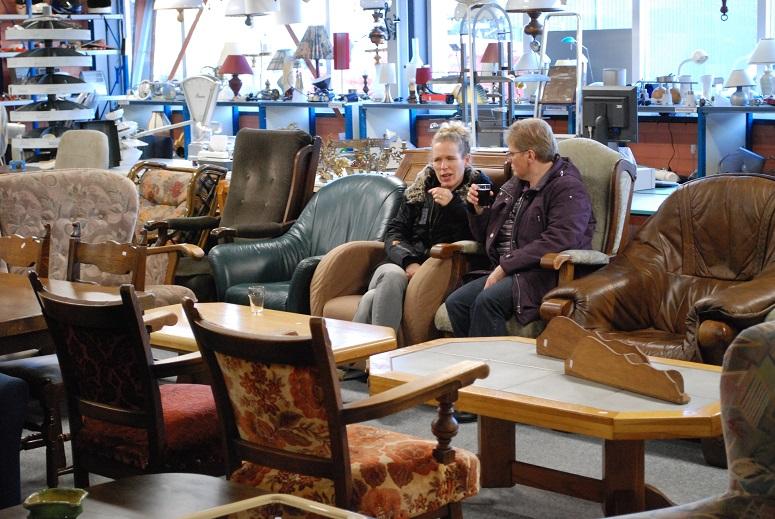 Opening kringloopwinkel de Wolden op vrijdag 1 februari