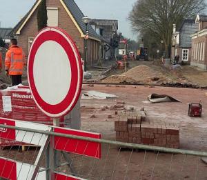 laatste fase herinrichting Dijhuizen Ruinerwold