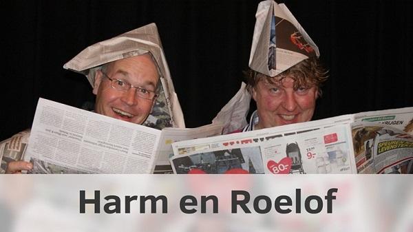 Harm en Roelof bij Museumboerderij De Karstenhoeve