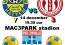 3e elftal VV Ruinerwold voetbalt op grasmat PEC
