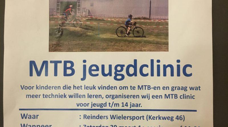 MTB-clinic over 10 dagen aan de Kerkweg