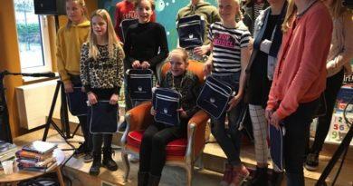 Aletta Bosma wint de gemeentelijke voorleeswedstrijd!
