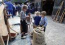 Boerendrokte bij museumboerderij De Karstenhoeve