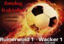 Voetbalderby Ruinerwold – Wacker op programma