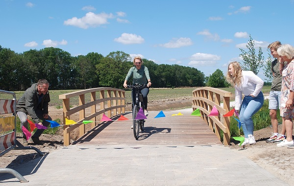 Formele opening fietspad Havelterweg