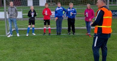 G voetbal bij voetbal vereniging Ruinerwold