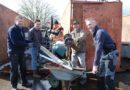 Oud ijzer en recycle actie