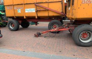 Oud ijzer en recycle actie @ Oosteinde